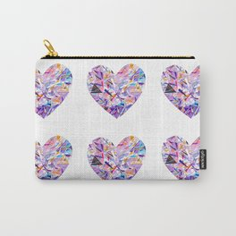 Gemstone Hearts Carry-All Pouch