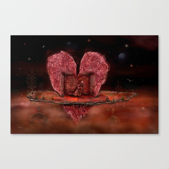Deepheart Canvas Print