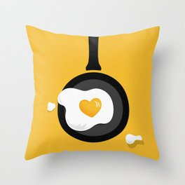 Cooking Is Love Throw Pillow