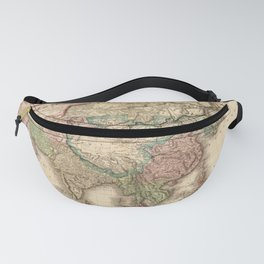 Map of Asia (1818) Fanny Pack