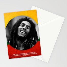 PEACE - LIFE - REGGAE Stationery Cards
