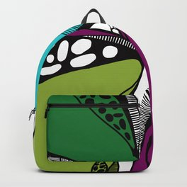 Colored garden Backpack
