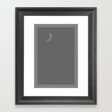 Star Wars: that's no moon Framed Art Print