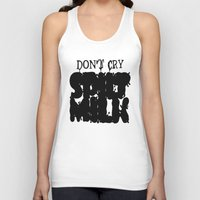 milk Tank Tops featuring milk by Abstractink82