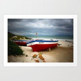 Western Cape, South Africa - SAWC03 Art Print