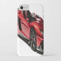 lamborghini iPhone & iPod Cases featuring Lamborghini Veneno by rosita