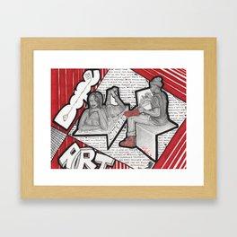 Dope Artist Framed Art Print