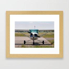 Cessna light aircraft Framed Art Print