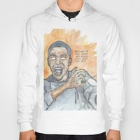 oitnb Hoodies featuring Poussey OITNB by Ashley Rowe