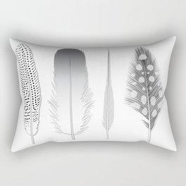 Feathers Trio Rectangular Pillow