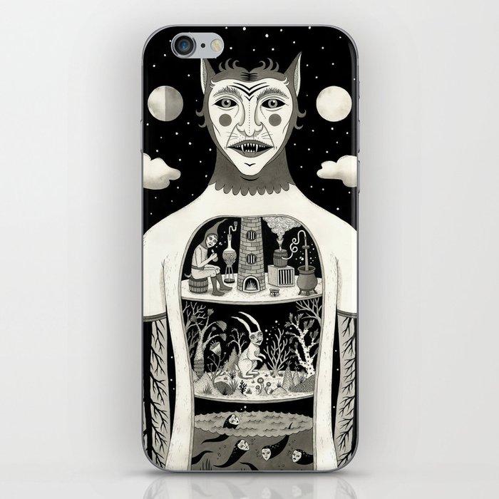 Under Skin iPhone Skin
