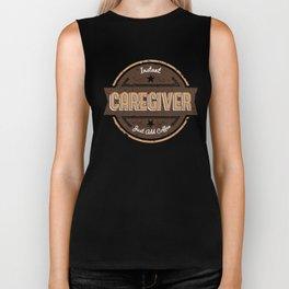 Instant Caregiver Just Add Coffee Shirt Funny Gift Ideas Biker Tank