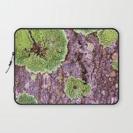 Tree Bark Pattern with Lichen #7 Laptop Sleeve