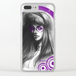Hero for hire Clear iPhone Case