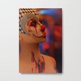 Bloodwyn - Creepy Horror Clown Artwork Metal Print