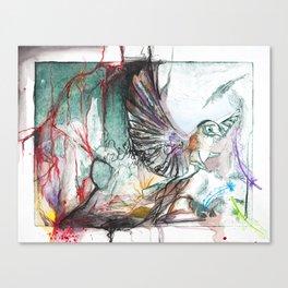 Bird Version II Canvas Print