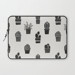 Southwestern Stamped Potted Cactus + Succulents Laptop Sleeve