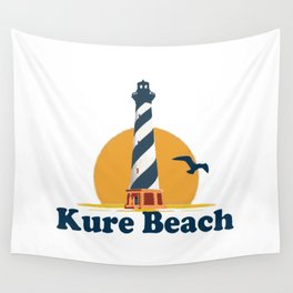Kure Beach - North Carolina. Wall Tapestry