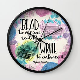 Write to Embrace design Wall Clock