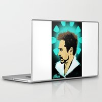 tony stark Laptop & iPad Skins featuring Tony Stark. by Tomcert