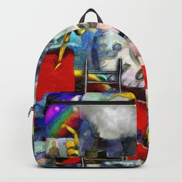 Elements of human consciousness Backpack