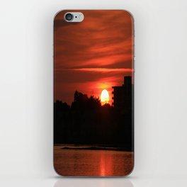 Dunlawton Sunrise iPhone Skin