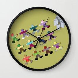 Break the mold (handicap) Wall Clock
