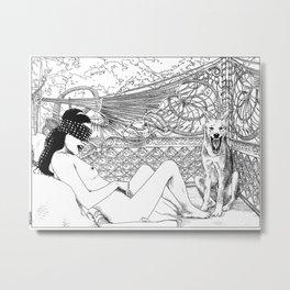 asc 416 - L'animal de compagnie (Wild pet) Metal Print