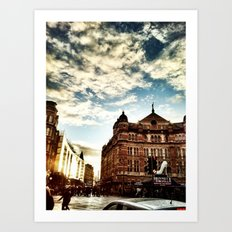 London by iPhone- The Palace Theatre Art Print