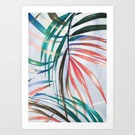 leaves 2s Art Print