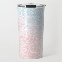 pink pastel and blue pastel Travel Mug