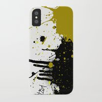 beast iPhone & iPod Cases featuring Beast by Kellie Anne