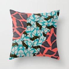 RAGAR+ORIX Throw Pillow