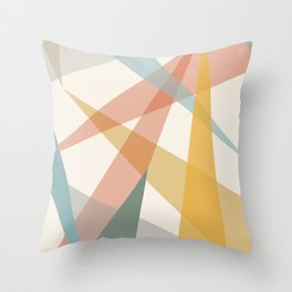 Geometrías II Throw Pillow