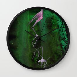 A Tarot of Ink Major Arcana XIII Death Wall Clock