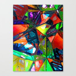 Jagged Little Morning Canvas Print