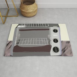 Toster Oven In Progress Rug