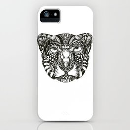Snow Liger iPhone Case