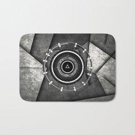Abstract Circle Of Zelda Bath Mat