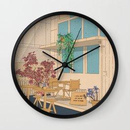 I Will Not Let Go Wall Clock