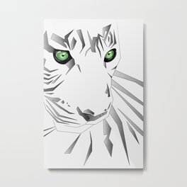 Tiger's  Soul Metal Print