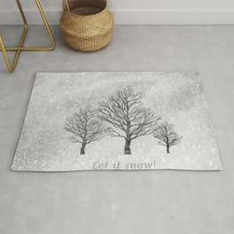 Let it Snow! Rug