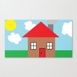 Paint House Canvas Print