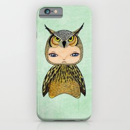 A Boy - Owl iPhone Case