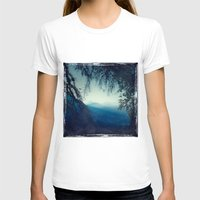 morning T-shirts featuring Blue Morning by Dirk Wuestenhagen Imagery