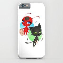 Miraculous Ladybug - Tikki and Plagg iPhone Case