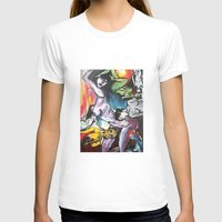 gravity T-shirts featuring Gravity by Lily Mandaliou