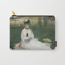 Reading by Berthe Morisot Carry-All Pouch