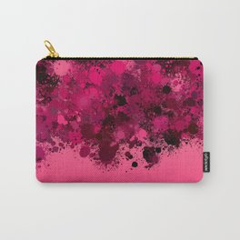 paint splatter on gradient pattern mag Carry-All Pouch