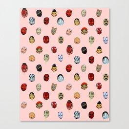 Masks in Asakusa Canvas Print